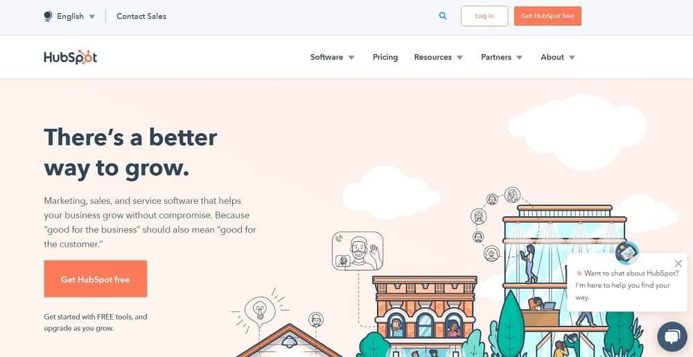 Screenshot of the HubSpot Email Marketing Software.