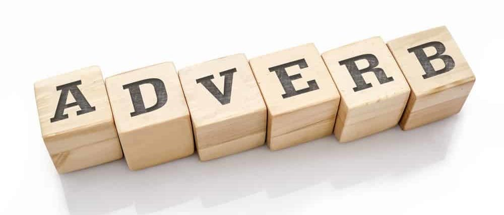 """""""Adverb"""" word formed with building blocks."""