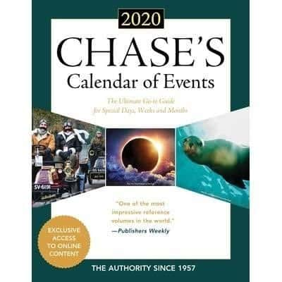 Chase's Calendar of events