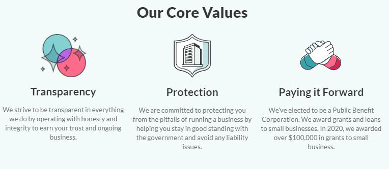 ZenBusiness Core Value