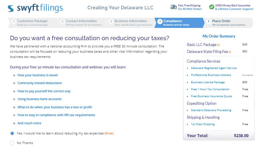 Consultation services.
