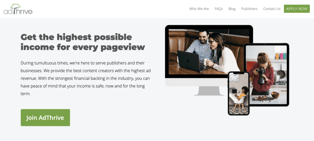 AdThrive home page