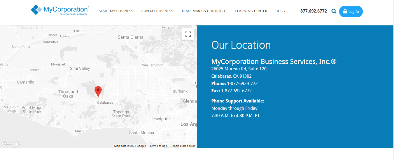 MyCorporation Support