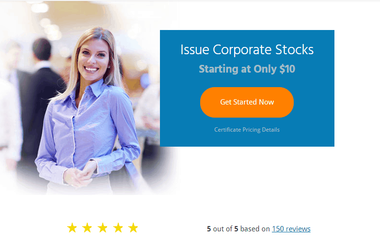 Stocks Certificate - MyCorporation