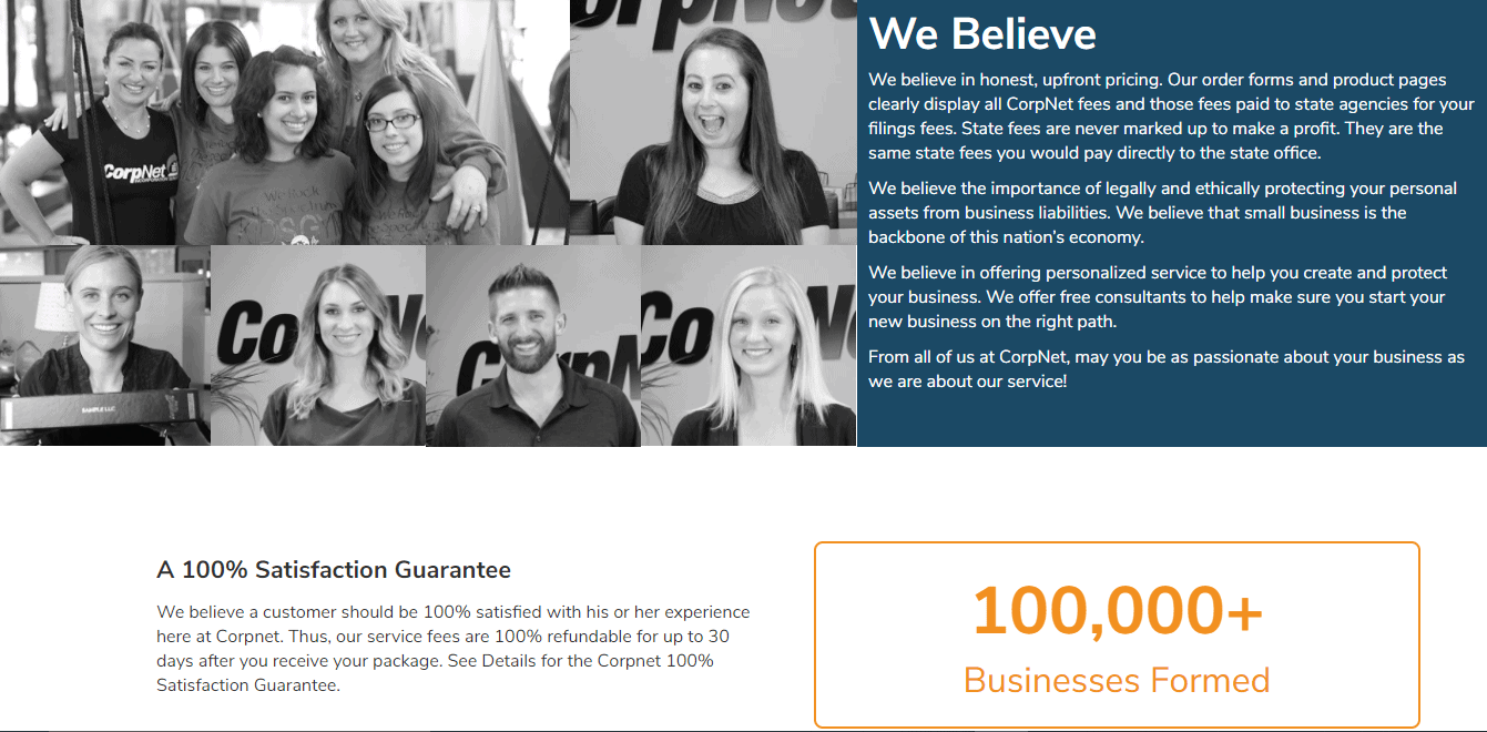 Corpnet Believe