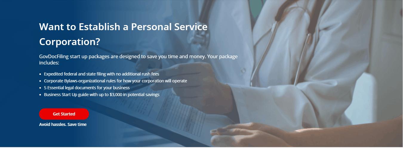 Personal Service Corportation