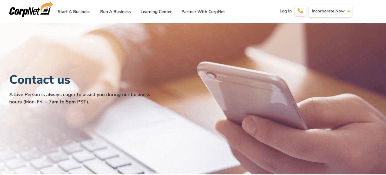 Corpnet Contact Numbers