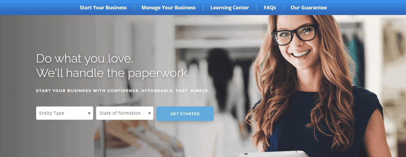 Swyft Filings Start Page