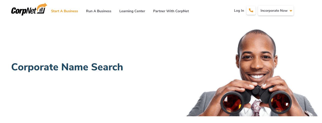 Corpnet Name Search