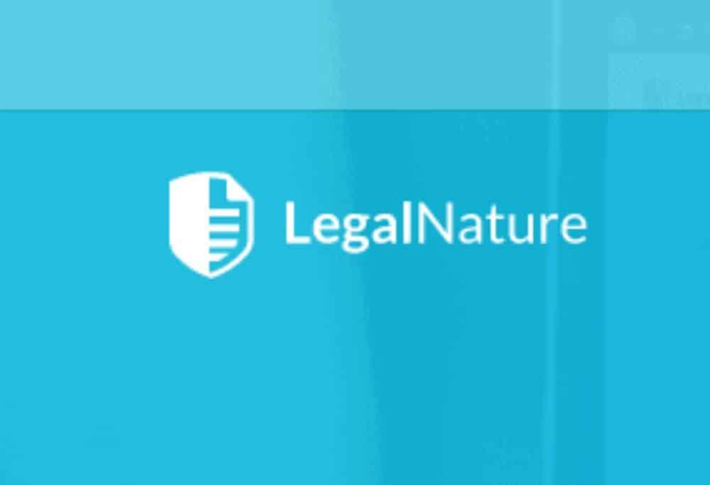LegalNature logo.