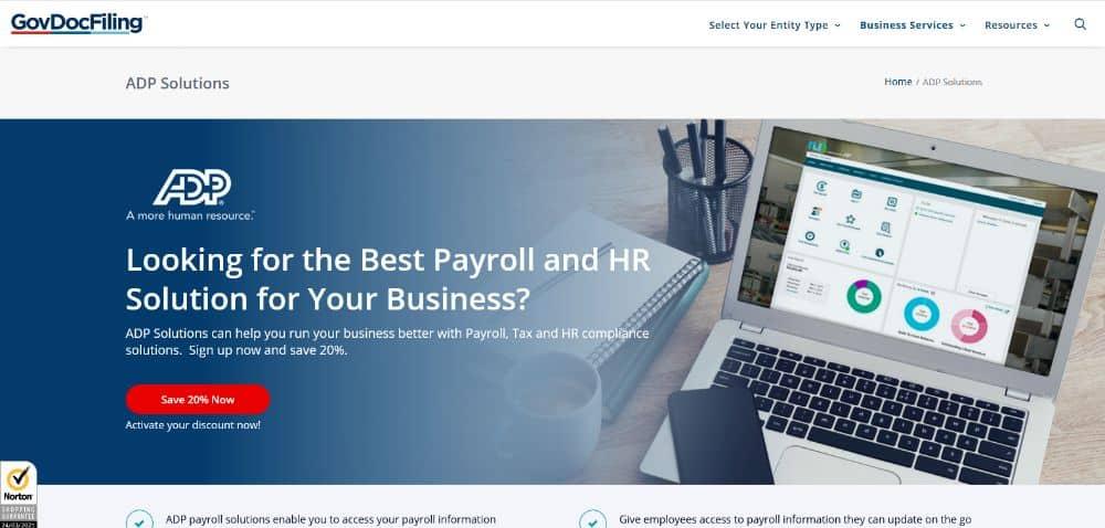 GovDocFiling HR solutions.