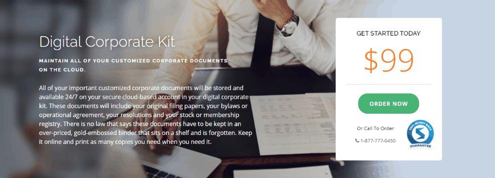 Digital Corporate Kit, Swyft Filings.