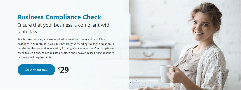 Business Compliance Check with MyCorporation.