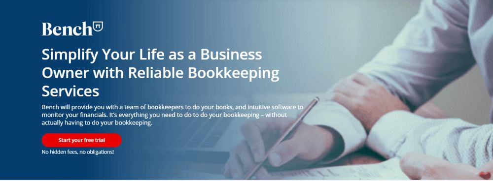 Bookkeeping with Bench.
