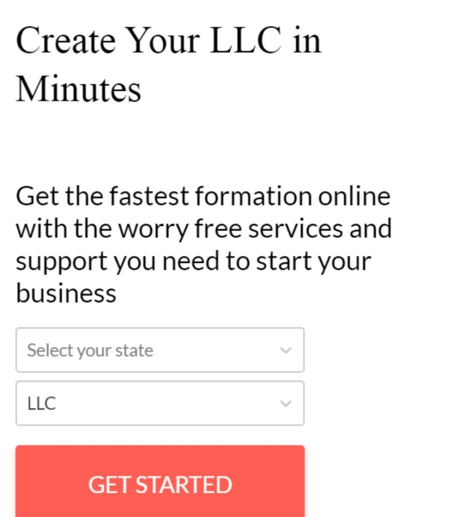 Getting Started with LLC Formation.