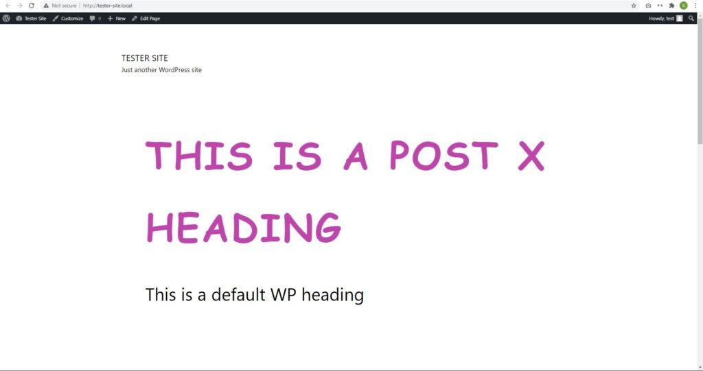 postx titles