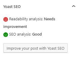yoast seo text analysis