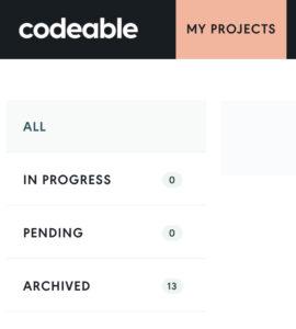 My Codeable Job History