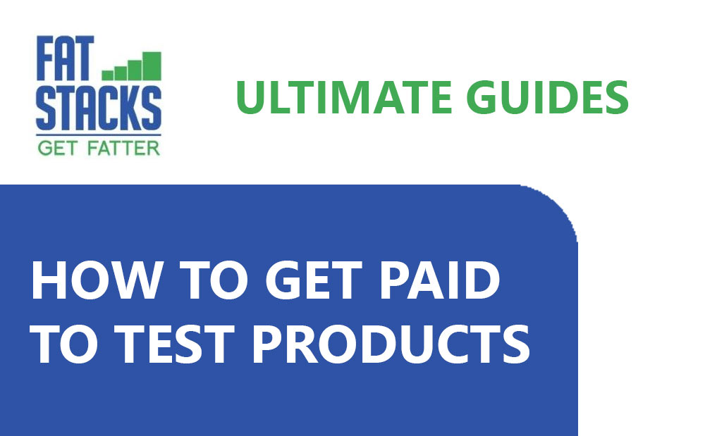 how to get paid to test products